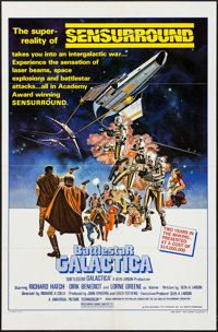 "Battlestar Galactica (Universal, 1978). One Sheet (27"" X 41"") Style C. Science Fiction"