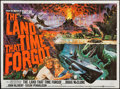 "Movie Posters:Science Fiction, The Land That Time Forgot (British Lion, 1975). British Quad(29.75"" X 40""). Science Fiction.. ..."