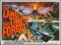 "The Land That Time Forgot (British Lion, 1975). British Quad (29.75"" X 40""). Science Fiction"