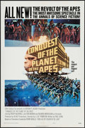 """Movie Posters:Science Fiction, Conquest of the Planet of the Apes (20th Century Fox, 1972). OneSheet (27"""" X 41""""). Science Fiction.. ..."""