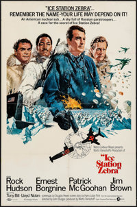 """Ice Station Zebra (MGM, 1969). One Sheet (27"""" X 41"""") Style A. Thriller"""