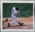 Baseball Collectibles:Photos, Derek Jeter Signed Canvas Prints Lot of 2....