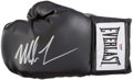 Boxing Collectibles:Autographs, Mike Tyson Signed Boxing Glove....
