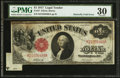 Error Notes:Large Size Errors, Fr. 37 $1 1917 Legal Tender PMG Very Fine 30.. ...