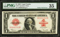 Error Notes:Large Size Errors, Fr. 40 $1 1923 Legal Tender PMG Choice Very Fine 35.. ...