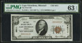National Bank Notes:Missouri, Cape Girardeau, MO - $10 1929 Ty. 1 The First NB Ch. # 4611. ...