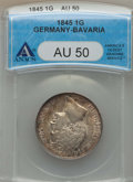 Germany:Bavaria, Germany: Pair of Two Certified Coins 1845-1861,... (Total: 2coins)