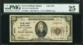 National Bank Notes:Maine, Fort Fairfield, ME - $20 1929 Ty. 1 The Fort Fairfield NB Ch. #4781. ...