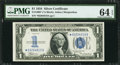 Small Size:Silver Certificates, Fr. 1606* $1 1934 Silver Certificate. PMG Choice Uncirculated 64 EPQ.. ...