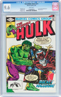 Modern Age (1980-Present):Superhero, The Incredible Hulk #271 (Marvel, 1982) CGC NM+ 9.6 White pages....