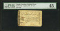 Colonial Notes:North Carolina, North Carolina April 2, 1776 $7 1/2 U.S. Flag with thirteen stripesand Union Jack PMG Choice Extremely Fine 45.. ...