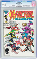 Modern Age (1980-Present):Superhero, X-Factor #5 (Marvel, 1986) CGC NM/MT 9.8 White pages....