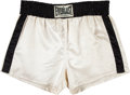 Boxing Collectibles:Memorabilia, 1976 Muhammad Ali Fight Worn Trunks from Ken Norton III Bout....