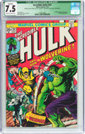 Bronze Age (1970-1979):Superhero, The Incredible Hulk #181 Incomplete (Marvel, 1974) CGC QualifiedVF- 7.5 Off-white to white pages....