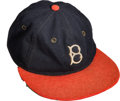 Baseball Collectibles:Uniforms, 1935 Babe Ruth Final Career Game Worn Boston Braves Cap, MEARSAuthentic.. . ...