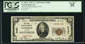 National Bank Notes:Wyoming, Kemmerer, WY - $20 1929 Ty. 1 The First NB Ch. # 5480. ...