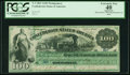 Confederate Notes:1861 Issues, T3 $100 1861 Cr. 3.. ...