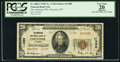 National Bank Notes:Wyoming, Cheyenne, WY - $20 1929 Ty. 2 The American NB Ch. # 11380. ...