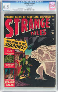 Golden Age (1938-1955):Horror, Strange Tales #7 (Atlas, 1952) CGC FN+ 6.5 Off-white pages....