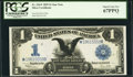 Large Size:Silver Certificates, Fr. 236* $1 1899 Silver Certificate PCGS Superb Gem New 67PPQ.. ...