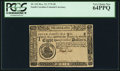 Colonial Notes:South Carolina, South Carolina December 23, 1776 $8 PCGS Very Choice New 64PPQ.....