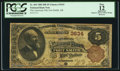 National Bank Notes:Arkansas, Fort Smith, AR - $5 1882 Brown Back Fr. 469 The American NB Ch. # 3634. ...