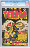 Golden Age (1938-1955):Horror, Startling Terror Tales #12 (Star Publications, 1952) CGC FN- 5.5Cream to off-white pages....