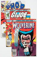 Modern Age (1980-Present):Miscellaneous, Marvel Modern Age Comics Group of 13 (Marvel, 1980s) Condition: Average VF-.... (Total: 13 Comic Books)
