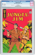 Silver Age (1956-1969):Adventure, Jungle Jim #5 (King Comics, 1967) CGC NM+ 9.6 White pages....