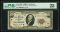 Small Size:Federal Reserve Bank Notes, Fr. 1860-D* $10 1929 Federal Reserve Bank Note. PMG Very Fine 25.. ...