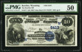 National Bank Notes:Wyoming, Rawlins, WY - $10 1882 Value Back Fr. 577 The Rawlins NB Ch. #(W)5413. ...