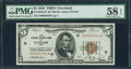 Small Size:Federal Reserve Bank Notes, Fr. 1850-D* $5 1929 Federal Reserve Bank Note. PMG Choice About Unc 58 EPQ.. ...