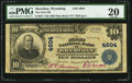 National Bank Notes:Wyoming, Sheridan, WY - $10 1902 Plain Back Fr. 627 The First NB Ch. # 4604....
