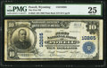 National Bank Notes:Wyoming, Powell, WY - $10 1902 Plain Back Fr. 628 The First NB Ch. # 10265....