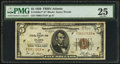 Small Size:Federal Reserve Bank Notes, Fr. 1850-F* $5 1929 Federal Reserve Bank Note. PMG Very Fine 25.. ...