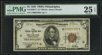 Fr. 1850-C* $5 1929 Federal Reserve Bank Note. PMG Very Fine 25 EPQ