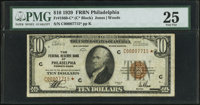 Fr. 1860-C* $10 1929 Federal Reserve Bank Note. PMG Very Fine 25