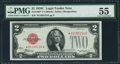 Small Size:Legal Tender Notes, Fr. 1504* $2 1928C Legal Tender Note. PMG About Uncirculated 55.. ...