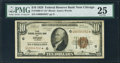Fr. 1860-G* $10 1929 Federal Reserve Bank Note. PMG Very Fine 25