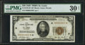 Small Size:Federal Reserve Bank Notes, Fr. 1870-H* $20 1929 Federal Reserve Bank Note. PMG Very Fine 30 Net.. ...