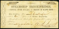 Confederate Notes:Group Lots, Mobile, (AL)- Steamship Breckinridge 1 Share February 20,1864 Stock Certificate.. ...
