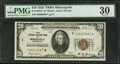 Small Size:Federal Reserve Bank Notes, Fr. 1870-I* $20 1929 Federal Reserve Bank Note. PMG Very Fine 30.. ...