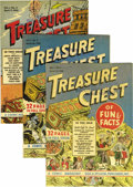 Golden Age (1938-1955):Miscellaneous, Treasure Chest #1-6 File Copy Group (George A. Pflaum, 1946) Condition: Average VF/NM.... (Total: 6 Comic Books)