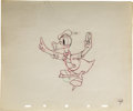 "animation art:Production Cel, ""The Hockey Champ"" Animation Production Drawing Original Art, Groupof 2 (Disney, 1939). ... (Total: 2 Items)"