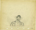 "animation art:Production Cel, ""The Autograph Hound"" Animation Production Drawing Original Art(Disney, 1939). ..."
