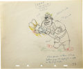 "animation art:Production Cel, ""The Autograph Hound"" Animation Production Drawing Original Art,Group of 2 (Disney, 1939). ... (Total: 2 Items)"