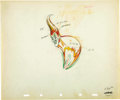 animation art:Production Cel, The Moth and the Flame Production Drawing Animation Original ArtGroup (Walt Disney, 1937).... (Total: 3 Original Art)