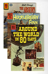 Four Color Movie and TV Group (Dell, 1957-62) Condition: Average FN/VF.... (Total: 9 Comic Books)
