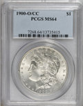 Morgan Dollars, 1900-O/CC $1 MS64 PCGS....