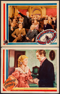 """General Spanky & Other Lot (MGM, 1936). Lobby Cards (2) (11"""" X 14""""). Comedy. ... (Total: 2 Items)"""